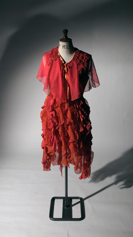 Course work from : Fashion and Clothing (Vocational A Level)