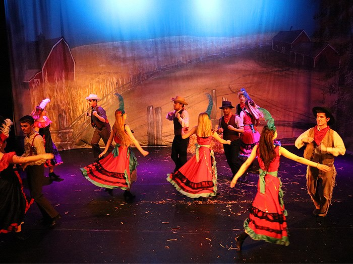 Oklahoma! performed by Clarendon Sixth Form students