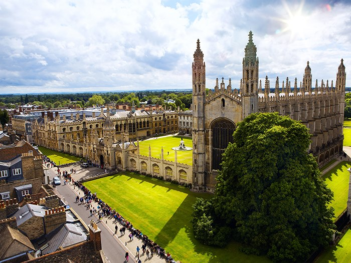 Cambridge University is the 2nd best in the world