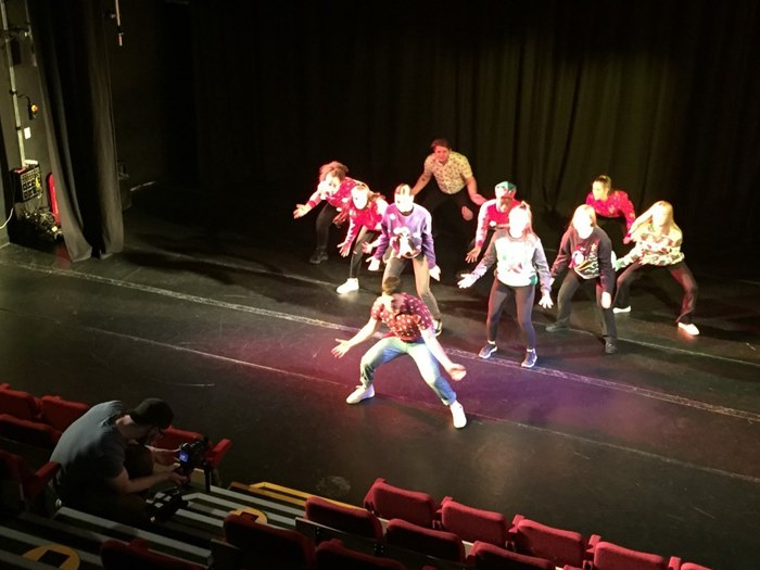 Performing arts students collaborate with Tameside Culture