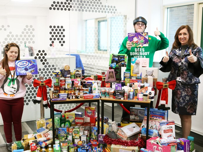 Students and staff are pleased with donations made